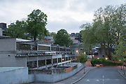 Central Hill Estate on 17th May 2016 in South London, United Kingdom. Central Hill is a low-rise estate of more than 450 homes in Crystal Palace in South London and has been recommended for demolition under Lambeth Council estate regeneration plan. The housing scheme, builtbetween 1966 and1974, was designed by Rosemary Stjernstedt under Lambeth Council's director of architecture,Ted Hollamby.