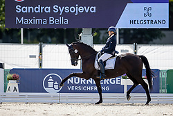 Sysojeva Sandra, LTU, Maxima Bella<br /> World Championship Young Horses Verden 2021<br /> © Hippo Foto - Dirk Caremans<br /> 26/08/2021