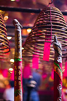The spiral incense of Man Mo Temple in Hong Kong make an infinitely fascinating photographic subject.