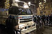 Confrontations Police Protesters Trocadero