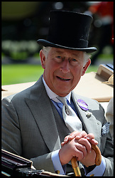 Image ©Licensed to i-Images Picture Agency. 18/06/2014. Ascot, United Kingdom. Prince Charles and The Duchess of Cornwall arrive for Day 2 of Royal Ascot at Ascot Racecourse. Picture by Andrew Parsons / i-Images