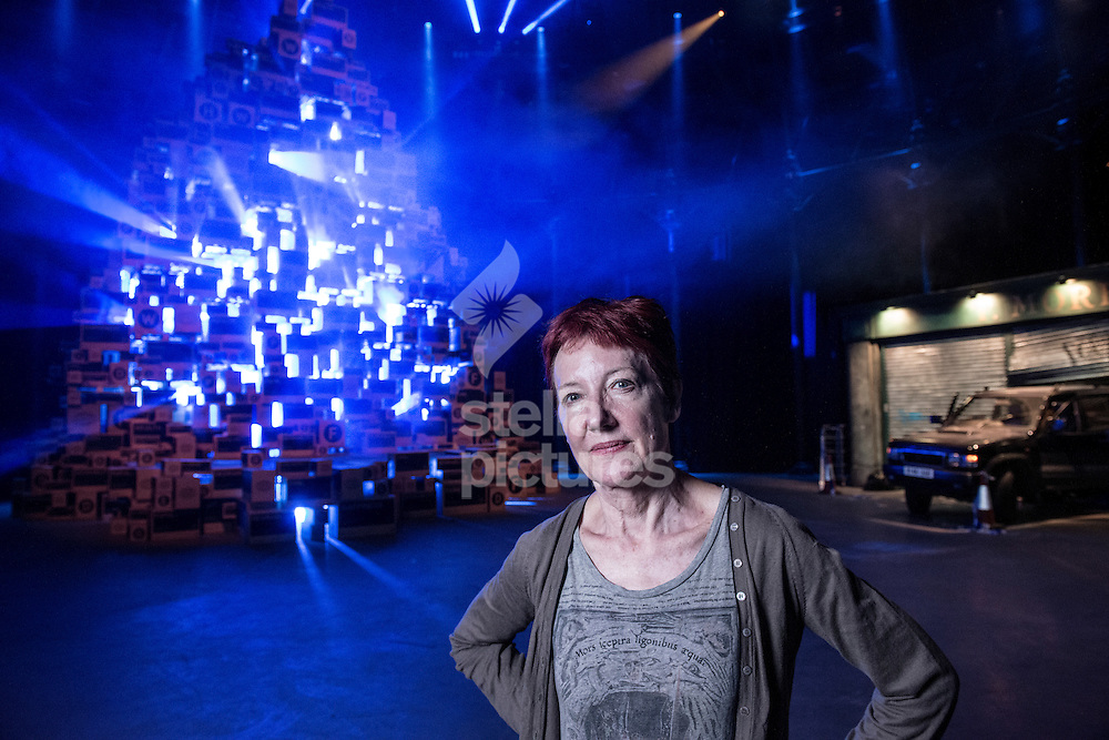 Penny Woolcock lead artist of Utopia at Roundhouse, Camden<br /> Picture by Daniel Hambury/Stella Pictures Ltd +44 7813 022858<br /> 03/08/2015