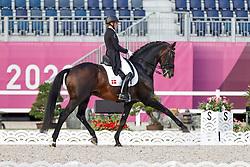 Merrald Nanna Skodborg, DEN, Zack, 121<br /> Olympic Games Tokyo 2021<br /> © Hippo Foto - Dirk Caremans<br /> 28/07/2021