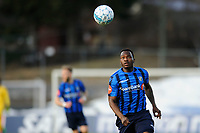 Fotball , Eliteserien , Eliteserien 2018<br /> 15.04.2018 , 20180415<br /> Stabæk - Tromsø <br /> Bi Sylvestre Franck Fortune Boli - Stabæk<br /> Foto: Sjur Stølen / Digitalsport