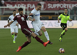 March 18, 2017 - Turin, Italy - Luca Rossettini in action during the Serie A match between FC Torino and FC Internazionale at Stadio Olimpico di Torino on March 18, 2017 in Turin, Italy. (Credit Image: © Loris Roselli/NurPhoto via ZUMA Press)