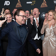 NLD/Amsterdam/20200122 - Musical Award Gala 2020, Fred Boot wint een award voor de musical Soldaat van Oranje