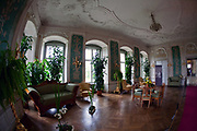 Zamek Książ - Salon Zielony, Polska<br /> Książ Castle - Green Living room, Poland