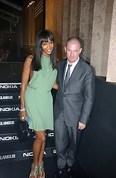 NAOMI CAMPBELL and ALEXANDER MCQUEEN at the 2006 Glamour Women of the Year Awards 2006 held in Berkeley Square Gardens, London W1 on 6th June 2006.<br /><br />NON EXCLUSIVE - WORLD RIGHTS
