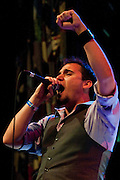 Jacob Henderson of the band Midnight Empire performs during Dallas Rocks at the House of Blues Friday, February 1, 2013 in Dallas, Texas. (Cooper Neill/The Dallas Morning News)