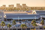 Southwest Airplane Landing at John Wayne Airport Orange County California