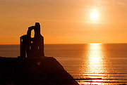 A picturesque sunset over Ballybunion Golf Club in Co. Kerry ..©Picture by Don MacMonagle..6 Port Road, Killarney Co. Kerry, Ireland..Tel: 00-353+64+32833