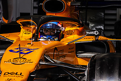 February 18, 2019 - Barcelona, Barcelona, Spain - Carlos Sainz Jr from Spain with 55 Mclaren F1 Team - Renault MCL34 in action at the pitlane during the Formula 1 2019 Pre-Season Tests at Circuit de Barcelona - Catalunya in Montmelo, Spain on February 18, 2019. (Credit Image: © Xavier Bonilla/NurPhoto via ZUMA Press)