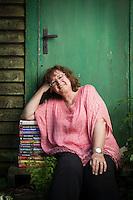 Kim M Kimselius, författare.