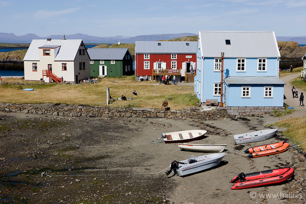 From the island, Flatey in Breidafjordur, Iceland - Flatey á Breiðafirði