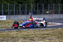 August 31, 2018 - Portland, Oregon, United Stated - MATHEUS LEIST (4) of Brazil takes to the track to practice for the Portland International Raceway at Portland International Raceway in Portland, Oregon. (Credit Image: © Justin R. Noe Asp Inc/ASP via ZUMA Wire)