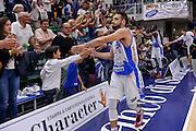 DESCRIZIONE : Beko Legabasket Serie A 2015- 2016 Dinamo Banco di Sardegna Sassari -Vanoli Cremona<br /> GIOCATORE : Rok Stipcevic<br /> CATEGORIA : Fair Play Ritratto Esultanza Tifosi Pubblico Spettatori Postgame<br /> SQUADRA : Dinamo Banco di Sardegna Sassari<br /> EVENTO : Beko Legabasket Serie A 2015-2016<br /> GARA : Dinamo Banco di Sardegna Sassari - Vanoli Cremona<br /> DATA : 04/10/2015<br /> SPORT : Pallacanestro <br /> AUTORE : Agenzia Ciamillo-Castoria/L.Canu