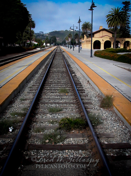 The station was built in 1902 by the Southern Pacific Railroad in the Spanish Mission Revival Style. Design work was by Santa Barbara architect Francis W. Wilson