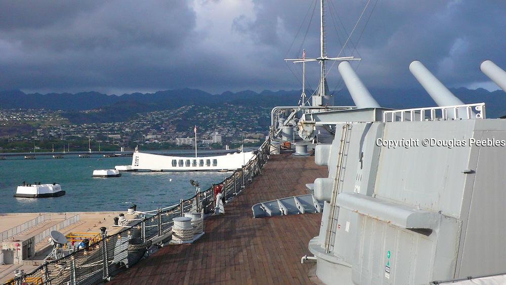USS Missouri, Pearl Harbor, Honolulu, Oahu, Hawaii