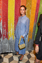 Hedvig Opshaug at a cocktail supper hosted by BOTTLETOP co-founders Cameron Saul & Oliver Wayman, along with Arizona Muse, Richard Curtis & Livia Firth to launch the #TOGETHERBAND campaign at The Quadrant Arcade on April 24, 2019 in London, England.<br /> <br /> ***For fees please contact us prior to publication***