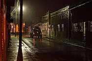 Stormy night in Gibara, Holguin, Cuba.