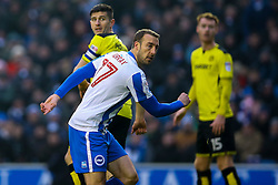 Goal, Glenn Murray of Brighton & Hove Albion scores, Brighton & Hove Albion 4-1 Burton Albion - Mandatory by-line: Jason Brown/JMP - 11/02/2017 - FOOTBALL - Amex Stadium - Brighton, England - Brighton and Hove Albion v Burton Albion - Sky Bet Championship