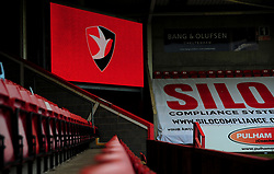 General views inside the stadium - Mandatory by-line: Nizaam Jones/JMP - 20/02/2021 - FOOTBALL - Jonny-Rocks Stadium - Cheltenham, England - Cheltenham Town v Bradford City - Sky Bet League Two