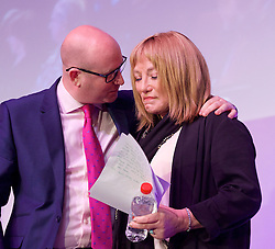 UKIP 2015 Spring Conference at the Winter Gardens Margate, Great Britain <br /> 28th February 2015 <br /> <br /> Paul Nuttall <br /> <br /> <br /> Kellie Maloney <br /> formerly Frank Maloney <br /> <br /> <br /> <br /> Photograph by Elliott Franks <br /> Image licensed to Elliott Franks Photography Services