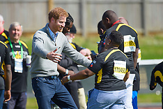 Prince Harry Hugging - 2 Oct 2017