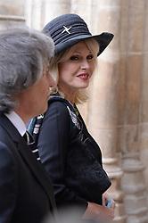 Joanna Lumley  beim Gedenkgottesdienst f¸r Terry Wogan im Westminster Abbey in London / 270916<br /> <br /> ***Memorial service for Terry Wogan at Westminster in London, September 27th, 2016***