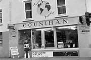 Counihan's Travel Agency, High Street, Killarney 1986.<br /> Picture by Don MacMonagle<br /> <br /> Killarney Now & Then - MacMONAGLE photo archives.<br /> Picture by Don MacMonagle -macmonagle.com<br /> Facebook - @killarneynowandthen
