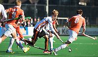 BLOEMENDAAL - HOCKEY -  Joep de Mol (Oranje-Rood) tijdens de competitie hoofdklasse hockeywedstrijd Bloemendaal -ORANJE-ROOD (4-1)  COPYRIGHT KOEN SUYK