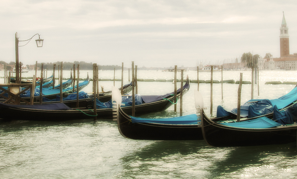 Gondolas on Canale di San Marco are date back to  1094.