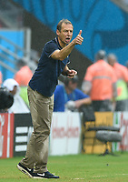 Fotball<br /> Tyskland v USA<br /> 26.06.2014<br /> VM 2014<br /> Foto: Witters/Digitalsport<br /> NORWAY ONLY<br /> <br /> Trainer Jürgen Klinsmann (USA)<br /> Fussball, FIFA WM 2014 in Brasilien, Vorrunde, USA - Deutschland