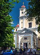 Litwa, Wilno, 08.07.2014. Monaster Świętego Ducha lub Monaster Zesłania Ducha Świętego w Wilnie – prawosławny klasztor w Wilnie.