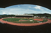 May 26, 2002; Eugene, OR, USA; General view of the 2002 Prefontaine Classic at Hayward Field.