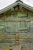 Golzern, Switzerland - old wooden house.