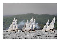 The Brewin Dolphin Scottish Series, Tarbert Loch Fyne...The National Sonata Class Start.
