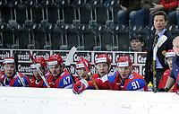 Trainer Vyacheslav Bykov (RUS) und sein Team © Melanie Duchene/EQ Images