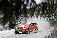 Motor <br /> WRC 2010<br /> Foto: DPPI/Digitalsport<br /> NORWAY ONLY<br /> <br /> MOTORSPORT - WRC 2010 - RALLY SWEDEN - KARLSTAD (SWE) - 11 to 14/02/2010 <br /> <br /> HENNING SOLBERG (NOR) / ILKA MINOR (AUT) - STOBART MOTORSPORT - FORD FOCUS WRC - ACTION