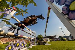 DELMOTTE Nicolas (FRA), Ilex VP<br /> Aachen - CHIO 2018<br /> Mercedes Benz Nationenpreis<br /> 19. Juli 2018<br /> © www.sportfotos-lafrentz.de/Stefan Lafrentz