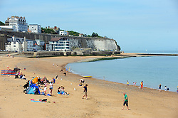 © Licensed to London News Pictures. 03/06/2017<br /> Sunny weather this afternoon in Ramsgate, Kent.<br /> Photo credit: Grant Falvey/LNP