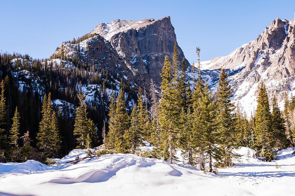 Dream Lake, Rocky Mountain National Park, Colorado, USA
