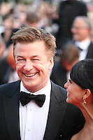 Actor Alec Baldwin and Hilaria Thomas  at the Mud gala screening at the 65th Cannes Film Festival France. Saturday 26th May 2012 in Cannes Film Festival, France.
