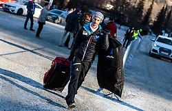 31.12.2016, Olympiaschanze, Garmisch Partenkirchen, GER, FIS Weltcup Ski Sprung, Vierschanzentournee, Garmisch Partenkirchen, TRaining, im Bild Manuel Fettner (AUT) // Manuel Fettner of Austria before his Practice Jump for the Four Hills Tournament of FIS Ski Jumping World Cup at the Olympiaschanze in Garmisch Partenkirchen, Germany on 2016/12/31. EXPA Pictures © 2016, PhotoCredit: EXPA/ JFK