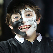 A young New Zealand fan during the New Zealand V France, Pool A match during the IRB Rugby World Cup tournament. Eden Park, Auckland, New Zealand, 24th September 2011. Photo Tim Clayton...