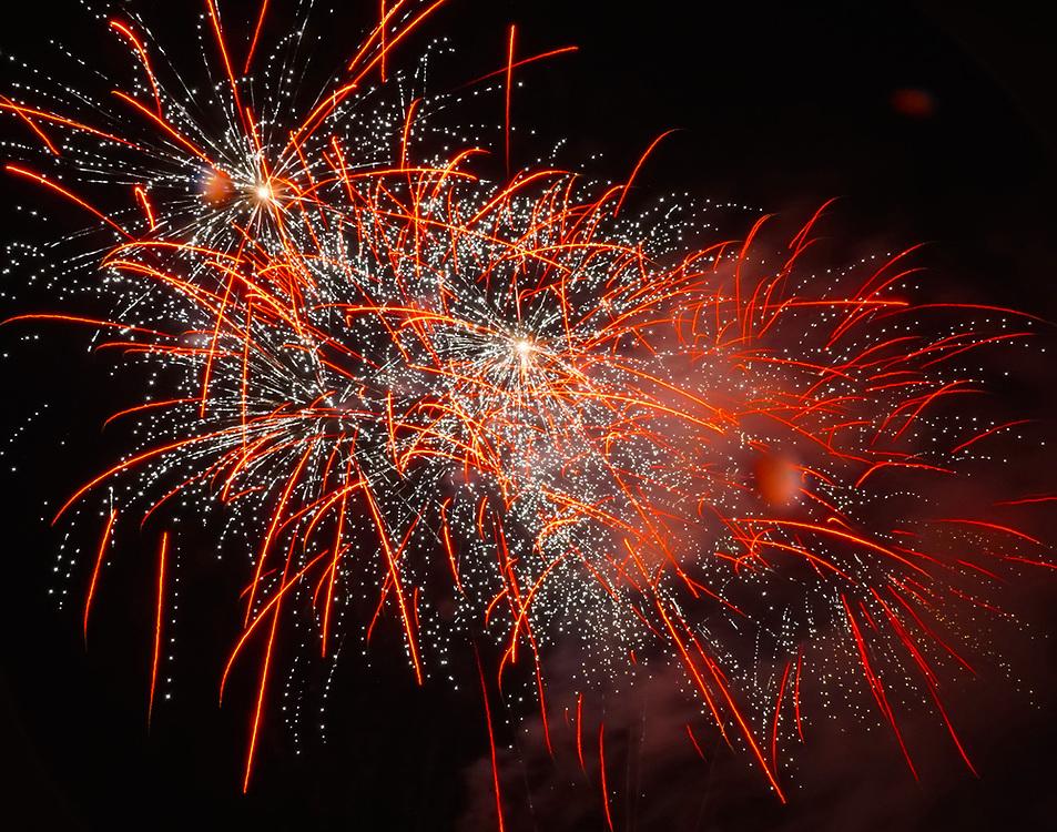 Fireworks, West Reading, Berks Co., PA
