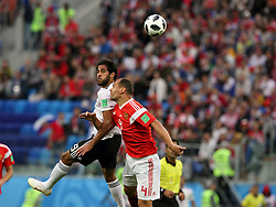 June 19, 2018 - St. Petersburg, Russia - 19 June 2018, Russia, St. Petersburg, FIFA World Cup 2018, First Round, Group A, First Matchday, Russia v Egypt. Player of the national team Sergey Ignashevich  (Credit Image: © Russian Look via ZUMA Wire)