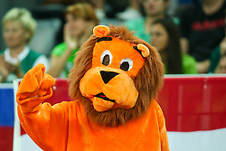 Lions from Netherlands during basketball match between Slovenia vs Netherlands at Day 4 in Group C of FIBA Europe Eurobasket 2015, on September 8, 2015, in Arena Zagreb, Croatia. Photo by Matic Klansek Velej / Sportida