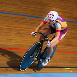 Nicky Zijlaard on on 36 track bike