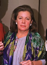 The HON.MRS ROBERT KISSIN at a party in London on 7th December 1998.<br /> MMR 20 WICO